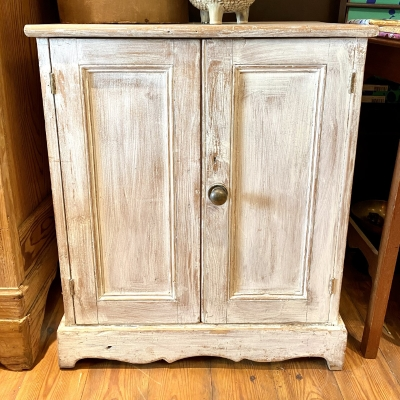 Vintage distressed cupboard