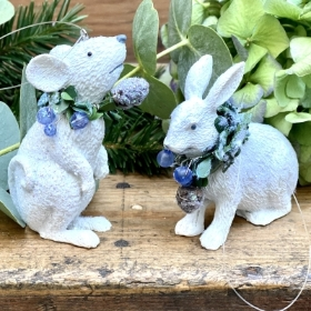 Hare hanging decorations