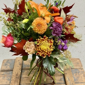 Brighton in the Autumn Hand Tied