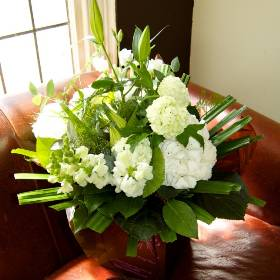 Classic Green & White Hand Tied