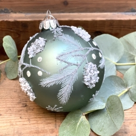 Festive Turquoise Baubles