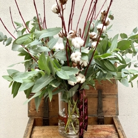 Natural Winter Vase