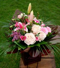 Shades of Pink Hand Tied