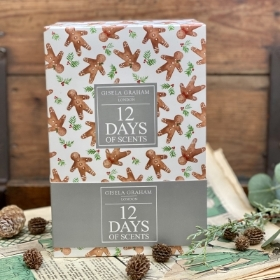 Twelves Days of Christmas Votive Boxed set