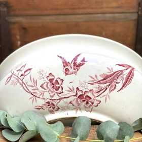Vintage French decorative bowl