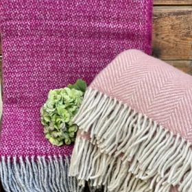 Wool British made Blanket throws